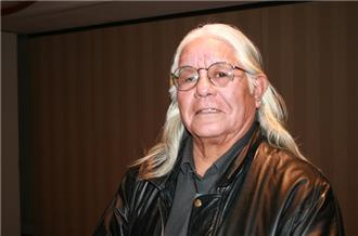 Lenny Foster, spiritual adviser of jailed Native American activist Leonard Peltier, has been prohibited by the US government from seeing Peltier [Jason Coppola/Al Jazeera]